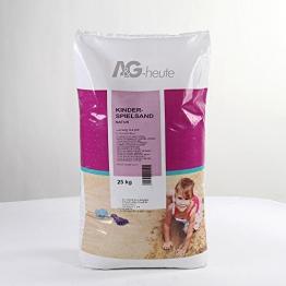 25kg Spielsand Quarzsand für Sandkasten Dekosand