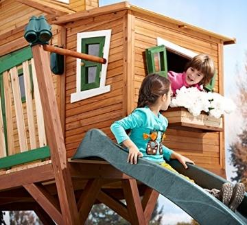 Detailansicht AXI Baumhaus Kinderspielhaus Stelzenhaus