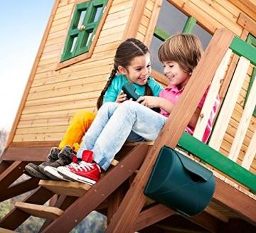 Annsicht der Treppe AXI Baumhaus Kinderspielhaus Stelzenhaus
