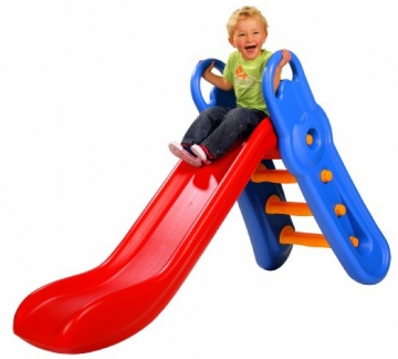 BIG Rutsche, Big-Fun-Slide 56710 mit Kind
