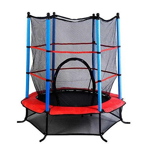 gartentrampolin 140cm mit sicherheitsnetz kinder trampolin sicherheitsrampolin garten kids. Black Bedroom Furniture Sets. Home Design Ideas