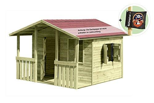 gartenpirat kinderspielhaus lisa garten. Black Bedroom Furniture Sets. Home Design Ideas