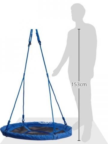 Größenzeichnung HUDORA - Nestschaukel 90 cm - 72126/01