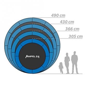 Original Ampel 24 Trampolin bis 160 kg unterschiedliche Größen