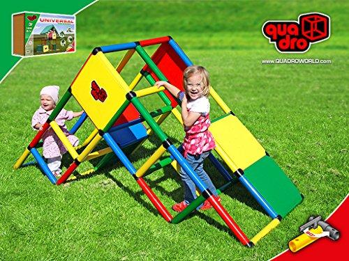 Klettergerüst Quadro Rutsche : Quadro universal baukasten ▷▷▷garten kids