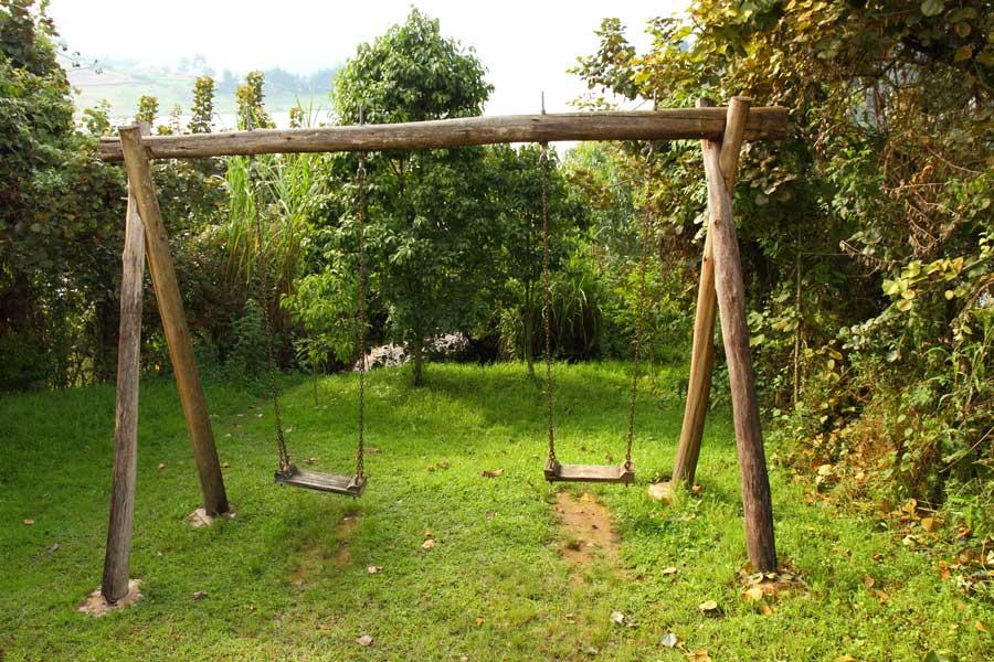 Schaukelgestell aufbauen - was musst Du beachten ? - Garten-Kids