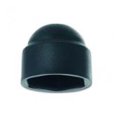 Sechskant Abdeckkappe SKS M8 für SW 13 , Kunststoff schwarz (25 Stück) - 1