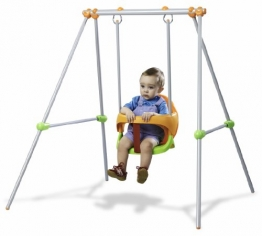 Smoby 310046 - Metallschaukel Baby Swing
