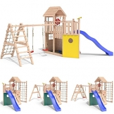 Seitenansichten Spielturm KON TIKI NEO 2 Baumhaus Piratenschiff