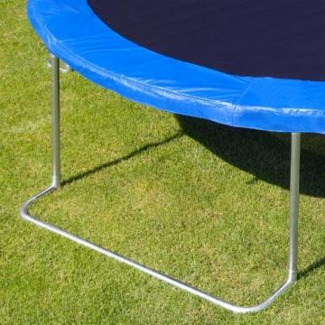 Detailaufnahme Standfuß Ultrasport Gartentrampolin Jumper inkl. Sicherheitsnetz