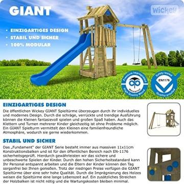 Prospekt erste Seite WICKEY GIANT Fortress Spielturm öffentlich EN-1176